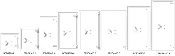 Modellen Salvus Bergamo