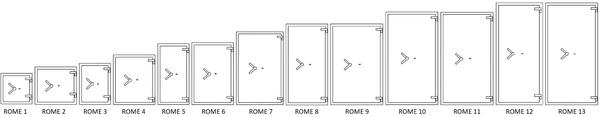Modellen Salvus Rome Kluizen
